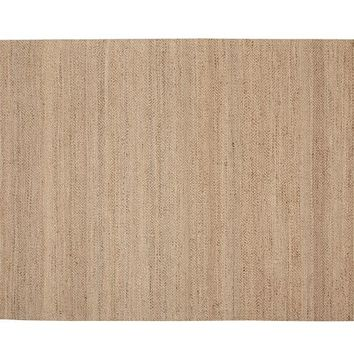 DUNCAN DIAMOND NATURAL FIBER RUG - NATURAL