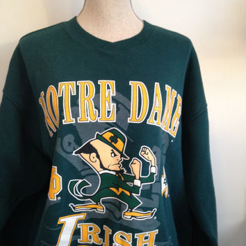 Vintage Notre Dame Fighting Irish Sweatshirt