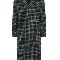 Haider Ackermann Checked Coat - Farfetch