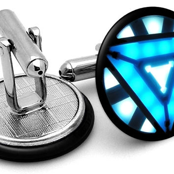 Iron Man Arc Reactor Alternate Cufflinks
