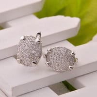Luxury 925 Silver Earrings [7316482759]