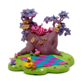 Alice In Wonderland Cheshire Cat Scene Base | Disney Store