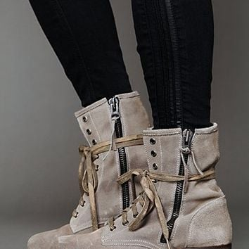 Free People Greyson Lace Up Boot