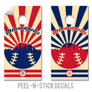 Minnesota Twins Decals