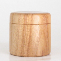 Handcrafted Trinket Box in Honey Locust with Magnetic Lid