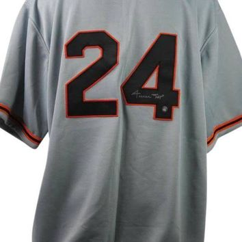 CREYONY Willie Mays Signed Autographed San Francisco Giants Baseball Jersey (Say Hey Authenticated)