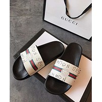 Gucci men and women Slipper Multicolor