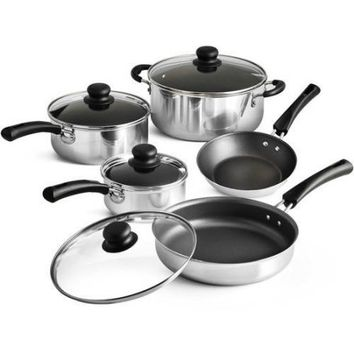Tramontina 9-Piece Simple Cooking Nonstick Cookware Set - Walmart.com