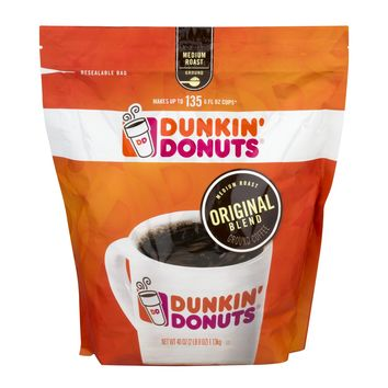 Dunkin' Donuts Ground Coffee Original Blend, 40.0 OZ