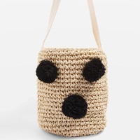 POLLY Straw Bucket Bag - Bags & Wallets - Bags & Accessories