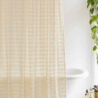 Eyelash Fringe Shower Curtain