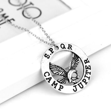 dongsheng Hot Movie Percy Jackson Camp Half Blood Fly Horse Necklace & Pendant Fan Gift Movies Jewelry Necklace -30