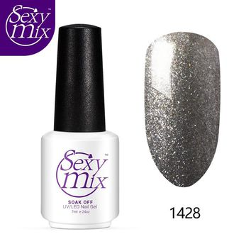 Sexy Mix 126 Color Nail Gel Polish Long Lasting UV Gel Lacquer Soak off Nail Art Salon 3D Painting Jelly Gel Manicure Varnishes