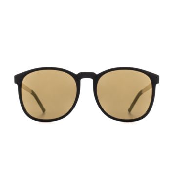 Komono - Metal Series Black Gold Urkel Sunglasses