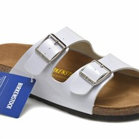 Men's and Women's BIRKENSTOCK sandals Arizona Birko-Flor 632632288-070
