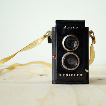 Vintage Ansco Rediflex Camera - TLR 620 Film Box Camera