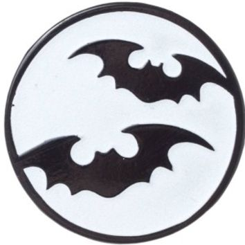 Sourpuss | Bat Moon Enamel Pin