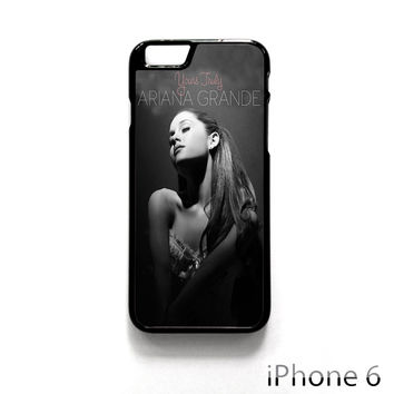 Ariana Grande Singer Yours Truly for Iphone 4/4S Iphone 5/5S/5C Iphone 6/6S/6S Plus/6 Plus Phone case