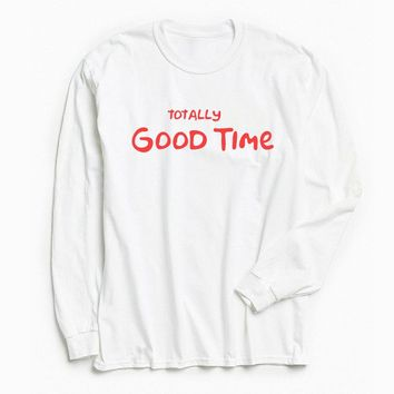 Totally Good Time Simpsons Long Sleeve Tee