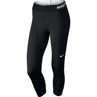 Nike Womens Pro Cool Training Capris Black/White 725468-010 Size Large