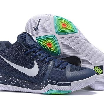 Nike Kyrie Irving 3 Navy/White Basketball Shoe US7-12