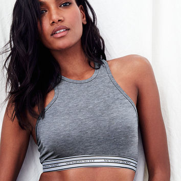 Logo Crop Top - Cotton Lingerie - Victoria's Secret