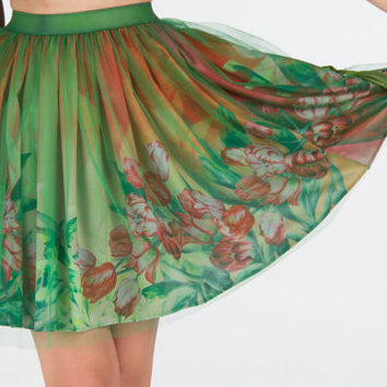 Tulip blooms - skirt