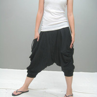 ZEN ninja pant 3/4 length by thaitee on Etsy