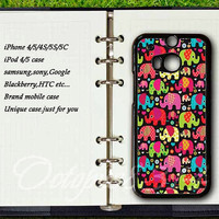 Elephants,htc one m7 case,htc one m8 case,htc one s case,htc one x case,samsung galaxy S3mini case,S4mini case,samsung S3,S4 case,S5 case