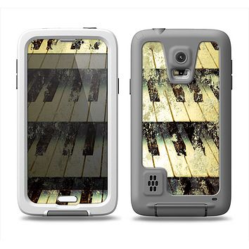 The Vintage Pianos Keys Samsung Galaxy S5 LifeProof Fre Case Skin Set