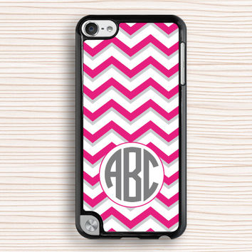 pink stripes ipod case,water red color ipod touch 4 case,pink red chevron ipod touch 5 case,art ipod 4 case,geometrical ipod 5 case,chevron touch 4 case,touch 5 case