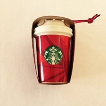 Starbucks 2014 Red Cup Christmas Ornament (011039022)