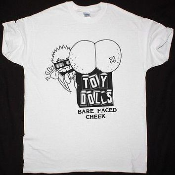THE TOY DOLLS BARE FACED CHEEK PUNK ROCK UK SUBS THE ADICTS T-SHIRT new fashion summer cotton casual mens tee shirts