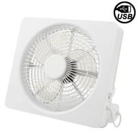 USB Mini Energy Saving & Strong Wind Fan, Power Source: USB or AA Batteries