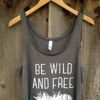 Feather Be Wild and Free Tank Top