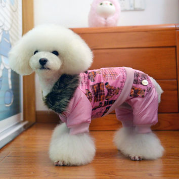 Adorable Dog Clothing Wind Breaker Jacket for Pets & Cute Puppies-Size XXL