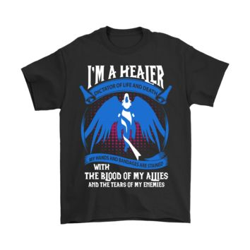 PEAP3CR World Of Warcraft I'm A Healer Dictator Of Life And Death Shirts