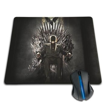 Babaite  Unique Design Daft Punk on the Iron Throne High Quality Cloth Rubber Comfortable 250x290x2mm Gaming Mouse pad