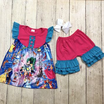 RTS Character Pink & Blue 2pc Set D25