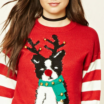 Reindeer Dog Holiday Sweater