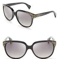 Alexander McQueen Studded Cat Eye Sunglasses