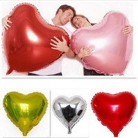 Super Big Heart Shape Inflatable Balloon Aluminum Foil Wedding Marriage Decoration [7982879815]