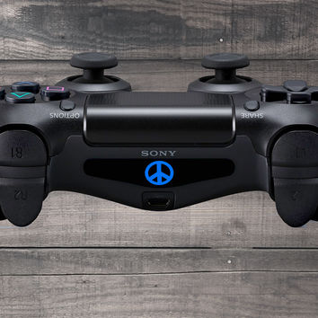 Peace Playstation 4 (PS4) Dual Shock Controller Light Bar Decal (Pack of 3)