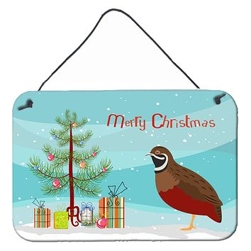 Chinese Painted or King Quail Christmas Wall or Door Hanging Prints BB9323DS812