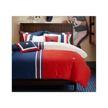 Cotton Concise Flag Warm Duvet Quilt Cover Sets Bedding Cover Sets 004