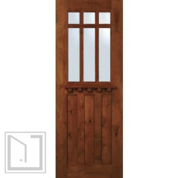 Best exterior slab doors with glass products on wanelo for Exterior door slab