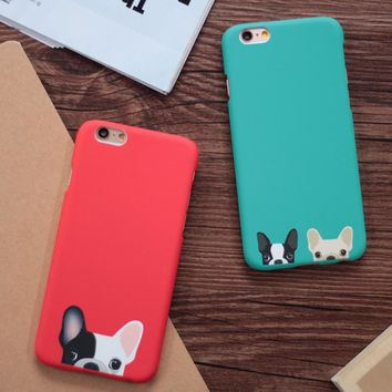 Cartoon Cute Pocket Dogs Phone Cases For iphone 5 5S SE 6 6S Plus