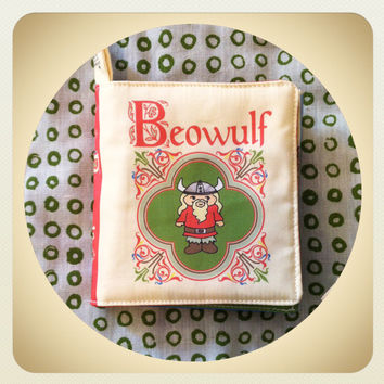 Beowulf Little Literary Classics baby toddler book cloth quiet fabric