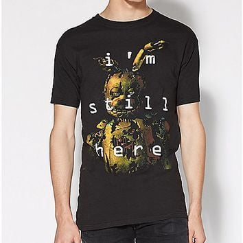 I'm Still Here Five Nights At Freddy's Tee - Spencer's