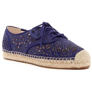 Vince Camuto Dinah Espadrille purple leather slip on Sneaker